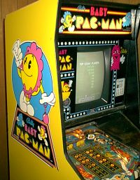 Midway's Baby Pac-Man - sideart