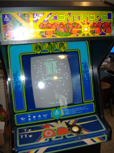 Centipede - working screen