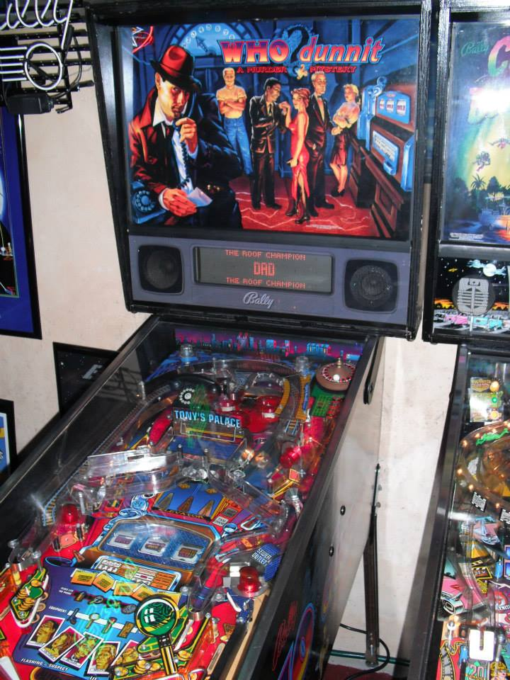 Williams Who Dunnit Pinball